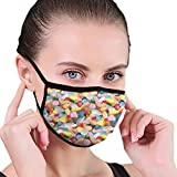Anti Bacterial Face Pollution Mask Pastillas de fondo Pastillas Máscara bucal reutilizable cómodo Algodón