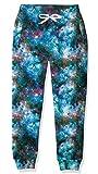 Kids Sports Sweatpants Cool 3D Graphic Purple Blue Galaxy Nebula Dress Jogger Pants Elastic Waist Jogging Bottoms Winter Fall Pants for Outdoor Games 8-9 yrs