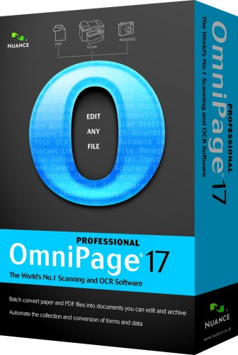 Nuance OmniPage Professional 17.0 Educational/Charity Upgrade (PC CD)