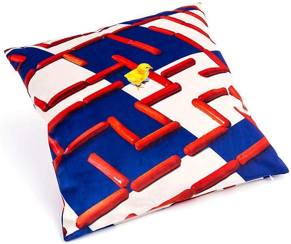 Seletti toiletpaper, cuscino pillows,sfoderabile e completo di imbottitura interna 2303