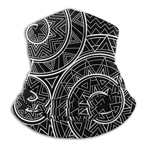 brandless Black Nagual. Seamless Pattern Bandana for Rave Face Mask Dust Wind Uv Sun Neck Gaiter Headwear for Women Men