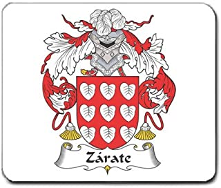 Zarate Family Crest Coat of Arms Mouse Pad