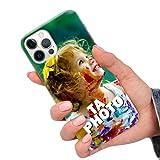 CuteCases Clear Housse pour Samsung Galaxy S9 Plus Coque de Téléphone Personnalisée avec Photo...