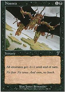 Magic: the Gathering - Nausea - Seventh Edition - Foil