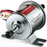 Inline Electric Fuel Pump Universal 12V Low Pressure PSI Heavy Duty Gas Diesel HEP-02A (4-7 PSI)