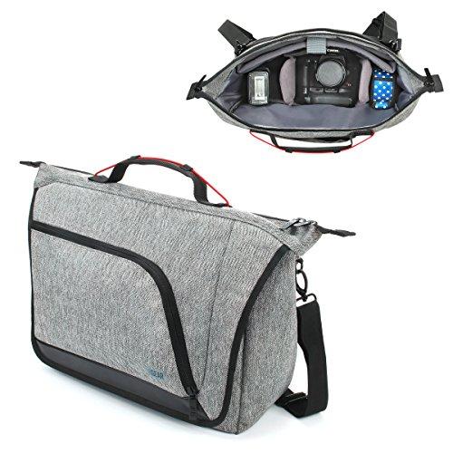 Mochila Bolsa para cámara de Fotos Reflex de USA Gear con divisores...