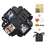 KATELUO Kreative Überraschung Box,Explosions-Box DIY Geschenk Handgemachtes Scrapbook Zubehör Faltendes Fotoalbum,DIY Hochzeit Jahrestag...