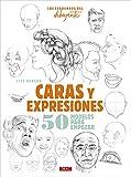 Los Cuadernos Del Dibujante. Caras Y Expresiones: 50 modelos para empezar...
