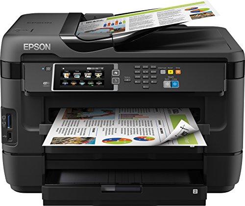 Epson WF-7620DTWF Workforce Multifunzione Ink-Jet a Colori, Funzione Stampa/Copia/Fax/Scansione, con Amazon Dash Replenishment Ready