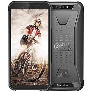 """Rugged Unlocked Cell Phones, Blackview BV5500 Plus 4G Smartphones IP68 Waterproof Drop Proof, 5.5"""" 3GB+32GB Dual SIM…"""