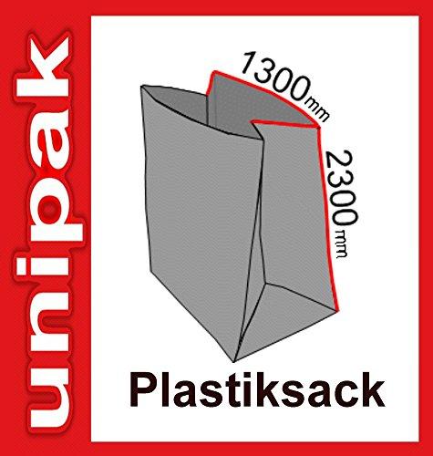 Plastiksack Müllsack PE-Sack 1300 x 2300mm 10 Stück 1000 Liter Müllbeutel Abfallbeutel Spänesack
