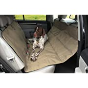 Petego Dog Car Seat Protector Hammock, Tan, X-Large