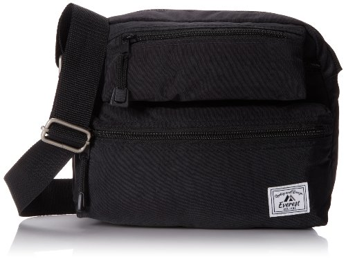 Everest Cross Body Bag, Black, One Size