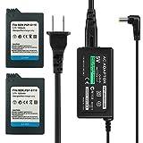 TFSeven 2Pcs PSP-S110 1200mah Rechargeable...