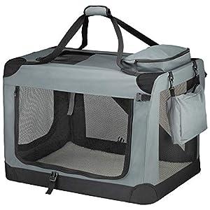 Your Home Cage Pliable pour Animal Domestique, Transport pour Chiens et Chats avec Tapis en Polaire et poignée de Transport
