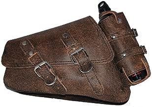 Best brown leather saddlebags harley Reviews