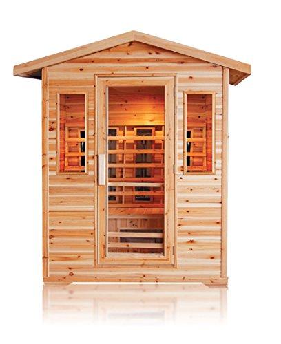 trade-line-partner/Calore–cabina sauna Eck. 3persone esterni Outdoor