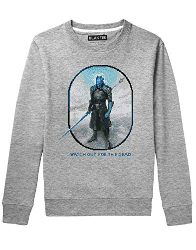 BLAK TEE Unisex Watch Out for The Dead Sweatshirt S
