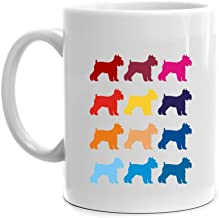 Eddany Colorful Schnauzer Mug