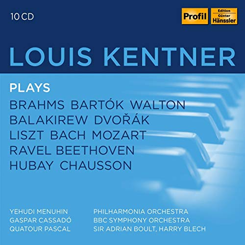 Louis Kentner Plays Brahms,Liszt,Bach,Mozart,..
