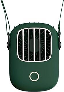 WT-YOGUET - Mini ventilador de mano para niños, 3 marchas, ajustable, para colgar el cuello, con carga USB