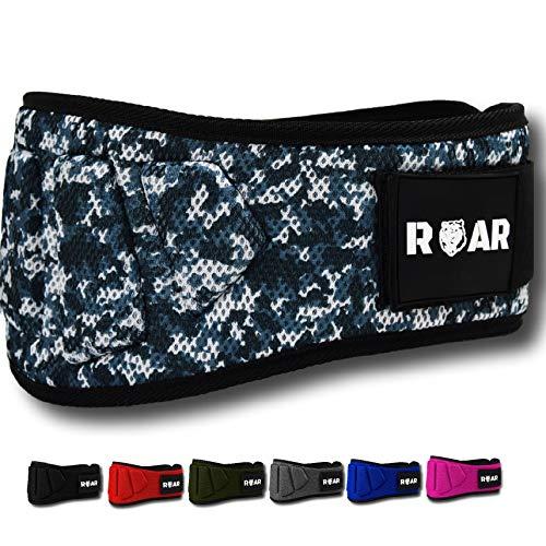 Roar® Cinturón musculación para Entrenamiento de Levantamiento de Peso Crossfit Powerlifting Halterofilia...