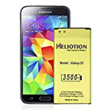Galaxy S5 Battery, HELIOTION High Capacity Battery [3500mAh] Upgraded Replacement Battery for Galaxy S5 [I9600, G900F, G900H, G900V (Verizon), G900R4, and More] [2 Year Warranty]