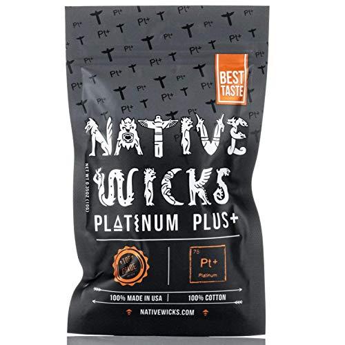 Native Wicks Cotton – Platinum Plus +