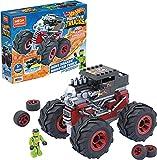 Mega Construx Monster Trucks Bone Shaker Coche de juguete de bloques de...