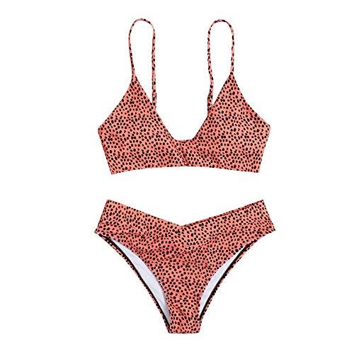riou Bikini Conjuntos de Bikinis para Mujer Push Up Mujeres Traje de BañO Estampado Bohemio Dividido BañAdores con Relleno Tops y Braguitas Mujer 2019 brasileños vikinis