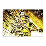 Fußballspieler Achraf Hakimi, Paco Alcacer, Jadon Sancho,