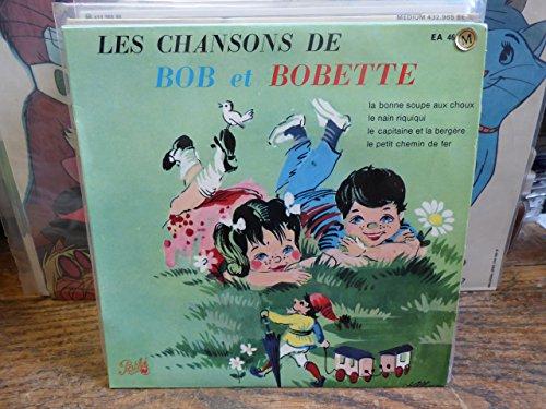 Les chansons de Bob et Bobette - la bonne soupe aux choux ...- disque pathé EA 46