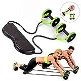 6 Trainings Level Portable Sport Core Double AB Power AB Roller AB Rad Fitness Bauch Übungen Ausrüstung