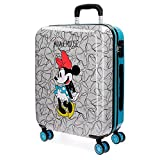 Disney Minnie Equipaje Infantil, 55 cm, 33 litros, Azul