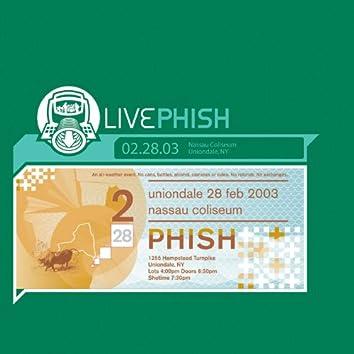 LivePhish 2/28/03 (Nassau Coliseum, Uniondale, NY)