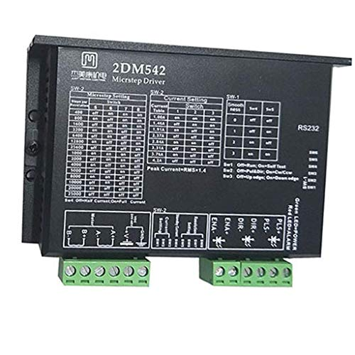 YO-TOKU Stepper Motor Driver Board 2-Phase Stepper Motor Driver for 3D Printer, 5-24V, 4/6/8 Cable Motors