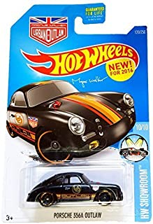 Hot Wheels, 2016HW Showroom, Magnus Walker's Porsche 356A Outlaw [Black] 120/250