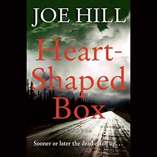 Heart-Shaped Box  audiobook cover art