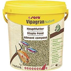 sera Vipagran Hauptfutter für alle Fische im Aquarium