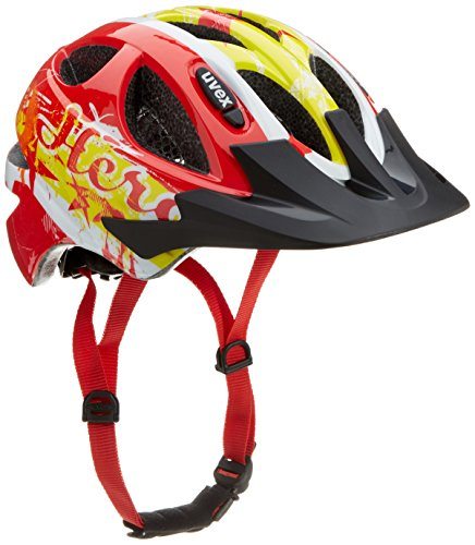 Uvex Kinder Fahrradhelm, Hero Red, 49-54, 4143172415