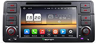 Eonon GA8150A BMW E46 Car Stereo Player, Car Radio Android 7.1 Octa-Core 2GB RAM GPS Navigation System 7 Inch Single Din Multimedia Head Unit, Support Bluetooth WiFi Connection