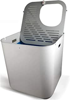 Cat Litter Box at The Top of Large Space, Control Odor And Prevent Cat Litter From Splashing Easily,It Is Durable And Easy...