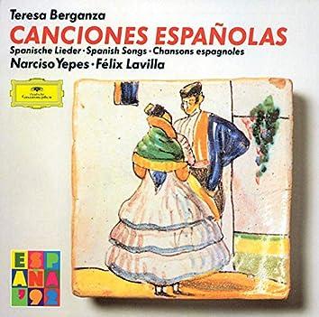 Various: Canciones españolas