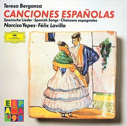 Teresa Berganza, Narciso Yepes & Felix Lavilla