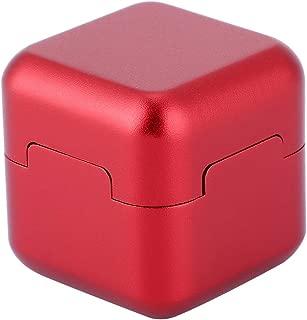Aluminum Portable Mini Cue Tip Chalk Holder Billiard Pool Chalks Carrier Case for Billiard Cue Billiard Accessory