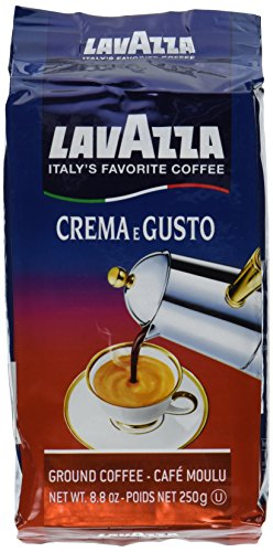 Lavazza Crema e Gusto Espresso 8.8oz(Pack of 6)