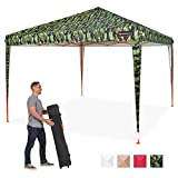 Best Choice Products 10x10ft Outdoor Portable Adjustable Instant Pop Up Gazebo Canopy Tent w/Carrying Bag - Camo