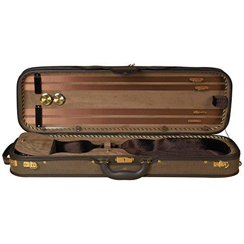 Baker Street BK-4020 Luxury Violin Case - Oblong