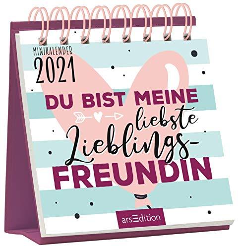 Du bist meine liebste Lieblingsfreundin: Minikalender 2021