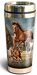 American Expedition Wildlife Collage 16oz Steel Travel Mugs